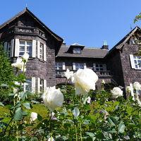 旧古河庭園の「秋薔薇フェスティバル」と大正の香り漂う「旧古河邸本館見学」