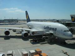 2013年夏ドイツ・オーストリア・ハンガリー弾丸周遊(その12 ルフトハンザドイツ航空のA380で帰国へ)