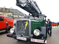 2013(29) (付録) ☆古都ドレスデンに 消防車クラッシックカーが 勢ぞろい