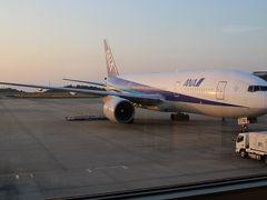 岡山空港から羽田空港へ全日空で飛ぶ空の旅