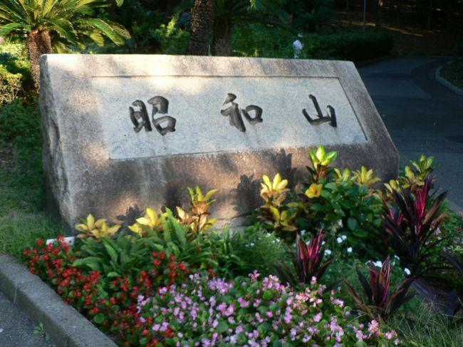 昭和山(しょうわざん)は大阪市大正区千島にある人工の山で標高33メートル。山の周囲は千島公園(ちしまこうえん)として整備されている。山のある大正区千島の一帯には大正時代に貯木場や製材工場が建設され木材工業の街を形成していたが地盤沈下の影響で貯木場の機能が低下し貯木場や製材工場は1960年代に住吉区(現・住之江区)平林に移転し大阪市は1969年に貯木場跡地に「港の見える丘」として人工山を中心とした公園を造成し公園の周囲に公団住宅や官公庁・公共施設を配置する「千島計画」を発表。<br />大阪万博を控えて地下鉄建設工事の残土約170万立方メートルを使用して山が建設され1970年11月に記念植樹式がおこなわれ「昭和山」と命名。昭和山の名称は昭和年間に建設された山ということに由来しているとのことで1974年に公園内に千島体育館が開設された。<br />公園内にはツツジ約5万本やソテツをはじめとした亜熱帯植物などが植えられており1987年昭和山・千島公園一帯に咲いているツツジが区民に親しまれているとして、ツツジが大正区の花に選定されている。<br />昭和山は建設当時大阪市では最も標高が高い場所だったが鶴見緑地内に鶴見新山が建設されたことで昭和山は大阪市で2番目に標高が高い場所となっているが標高33メートルが2番目に高い山とは大阪市がいかに平坦な地域かを良く証明している。<br />(写真は千島公園の昭和山)<br />