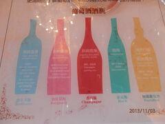 3日曜2日目6ひるワイナリー張裕国際葡萄酒城で試飲もする