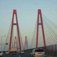 気儘な一人旅(01)・・・夜明け時の伊勢湾岸自動車道