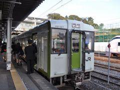 2013年11月南東北・北関東鉄道旅行4(磐越東線)