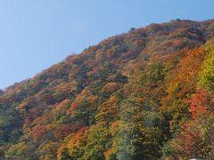 紅葉の上信越道を行く①妙義山付近