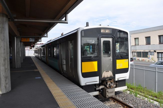 2013年11月2日に東京へ用事があり、そのついでに南東北方面の鉄道に乗ってきました。<br /> 前日夜に「週末パス」きっぷを買って、上野駅から「スーパーこまち」号の新型車両に乗車、仙台から少しずつ南下して東京へ戻ってきました。<br /> 次は、水戸駅から水郡線に乗ります。