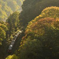 吾妻渓谷と川原湯温泉周辺に広がる紅葉を探しに訪れてみた