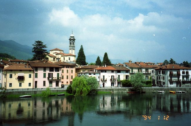 イタリア~スイス自転車縦断 (ベルガモ~ルガーノ編)