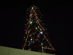 千葉ポートタワーのクリスマスイブ