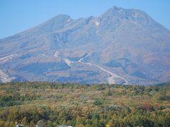 紅葉の上信越道を行く④妙高山を眺める