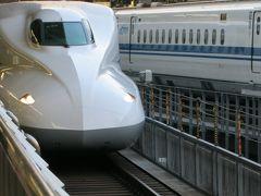 台風後の鴨川を確認するため京都へ
