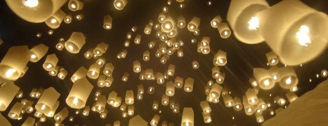タイ・チェンマイでイーペン祭り(前編)ソ...