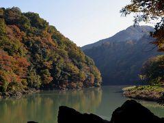 高尾山健康登山(3) 紅葉は 琵琶滝ー高尾山ー相模湖
