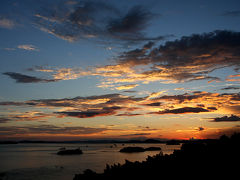瀬戸内に沈む夕日を求めて青春18きっぷで岡山へ