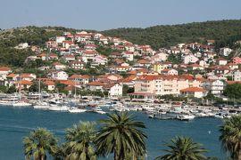 2012初夏、クロアチア等・東欧旅行記(26):6月23日(12):トロギル、旧市街、トロギルで泊ったホテル