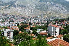 2012初夏、クロアチア等・東欧旅行記(32):6月24日(6):モスタル、内戦が激しかった街・ボスニア・ヘルツェゴビナヘ