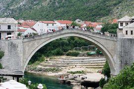 2012初夏、クロアチア等・東欧旅行記(35):6月24日(9):モスタル、世界文化遺産の石橋・スタリ・モスト