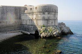 2012初夏、クロアチア等・東欧旅行記(37):6月25日(2):ドブロブニク、城壁に囲まれた旧市街、ミンチェタ要塞、ボカール要塞