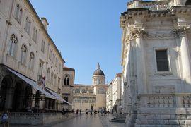 2012初夏、クロアチア等・東欧旅行記(38):6月25日(3):ドブロブニク、城壁内の旧市街散策、聖ヴラホ教会