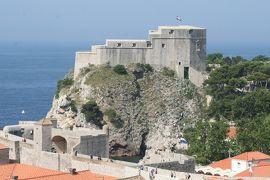 2012初夏、クロアチア等・東欧旅行記(41):6月25日(6):ドブロブニク、旧市街の城壁上の散策、ミンチェタ要塞、ロヴリイェナツ要塞
