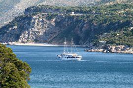 2012初夏、クロアチア等・東欧旅行記(46):6月26日(1):ドブロブニク、泊ったホテルの庭内散策、ラベンダー、夾竹桃
