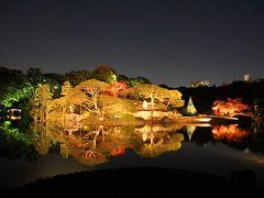 霜月の夜はシンメトリー♪過ぎゆく秋・和の饗宴を見逃すな!【旧古河庭園・六義園】