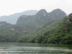 2012初秋、韓国旅行記25(4)丹陽、忠州湖クルージング、亀潭峰、玉筍峰、玉筍大橋