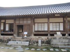 2012初秋、韓国旅行記25(7)安東、安東河回村、ぺ・ヨンジュン宿泊の両班宅