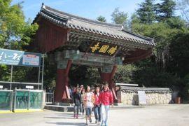 2012初秋、韓国旅行記25(13)慶州、仏国寺、山門、四天王像、石塔、極楽殿