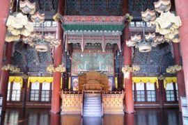 2012初秋、韓国旅行記25(18)ソウル、昌徳宮、玉座、宣政殿、仁政殿、楽善斎、仁寺洞散策