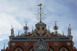 2012秋、バルト三国・東欧旅行記(16)リガ、旧市街、ブラックヘッド会館、市庁舎