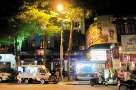 2012暮、マレーシア旅行記2(19)ペナン島、ペナン島で泊ったホテル、ホテル界隈の夜の散策