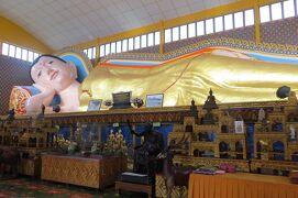 2012暮、マレーシア旅行記2(20)ペナン島、ホテル界隈の早朝散策、涅槃仏寺院