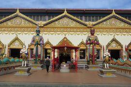 2012暮、マレーシア旅行記2(21)ペナン島、涅槃仏寺院、緬仏寺