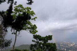 2012暮、マレーシア旅行記2(28)ペナン島、ペナンヒル、虹と街の夜景
