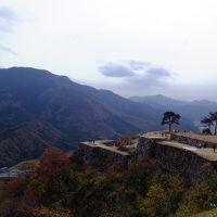 天空の城で有名になった竹田城址と紅葉の高源寺・高蔵寺を日帰りバスツアー