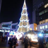 新梅田シティ  クリスマスイルミネーション世界最大級のクリスマスツリー【ドイツクリスマスマーケット大阪2013】