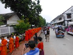 2013 ラオス・ベトナムの旅 5 ルアンパバーン市内観光