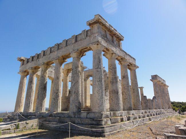 エギナ島に行ってきました。<br />「アフェア神殿」と「聖ネクタリオス修道院」が見所です。<br />写真は「アフェア神殿」です。