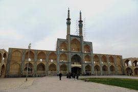 2012秋、イラン旅行記(29):11月20日(3):ヤズド(3):ヤズド市街、風採り塔、アミール・チャクマック広場