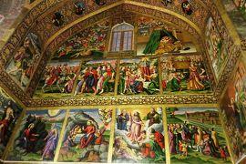 2012秋、イラン旅行記(32):11月20日(6):イスファハン(1):ヤズドからイスファハンへ、土砂漠、昼食、ヴァンク教会