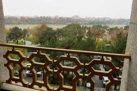 2012秋、イラン旅行記(35):11月21日(1):イスファハン(4):イスファハンで泊ったホテル、ホテル界隈の早朝散策