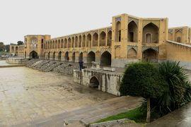 2012秋、イラン旅行記(39):11月21日(5):イスファハン(8):昼食、ハージュ橋、サファヴィー朝の盛衰