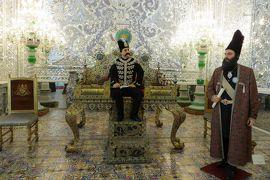 2012秋、イラン旅行記(52:補遺2):11月17日:ゴレスタン宮殿展示室(2/2):シャーの蝋人形、隕石、ゴスペル