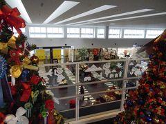 クリスマスムードの神戸空港。