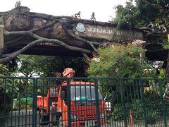 パパとは現地集合&解散 2013秋 バンコク ドゥシット動物園