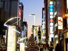 「 銀座夜景  イルミネーション ヒカリミチ 」 2013