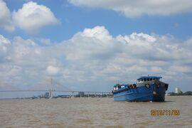 ベトナム ホーチミンからメコン川へ ミトの町でクルージング