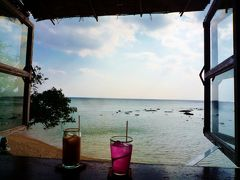 。+゚☆゚+。★。沖縄①*2013.2。+゚☆゚+。★。羽田→那覇~浜辺の茶屋