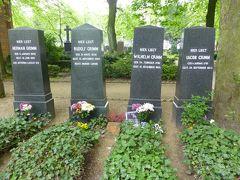 2013(34) ベルリンで墓マイラー(ワルキューレとグリム兄弟)・アンハルター駅・ボンヘッファーの足跡